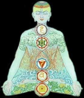 Chakras of the Human Body.